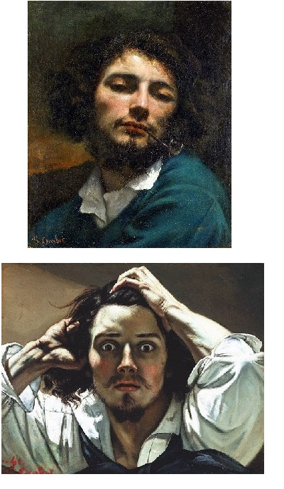 autoportraits de Courbet
