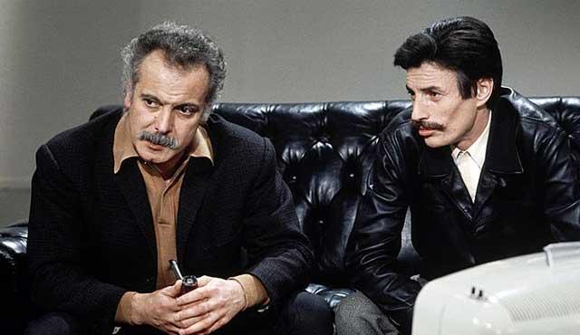 Brassens et Jean Ferrat - 1969
